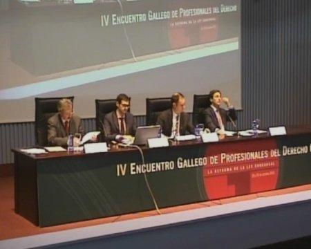 Cuarta Mesa Redonda - IV Encontro Galego de Profesionais do dereito concursal
